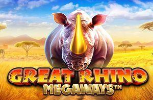 Great Rhino Megaways nyerőgéppel